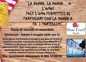 slow food mugello - gara del tordello