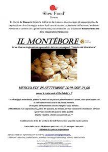 Slow food Livorno - serata Montebore