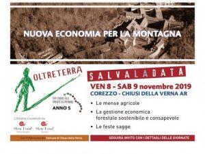 Oltreterra economie per la montaga a Corezzo in novembre