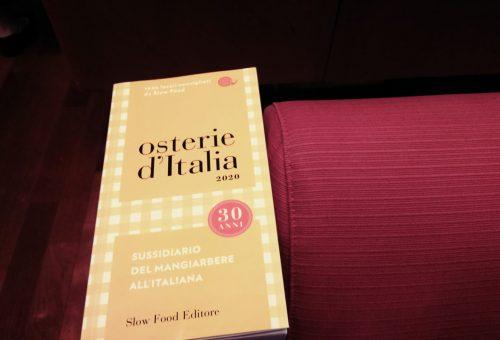 Guida alle Osterie d'Italia 2020. La presentazione a Pisa
