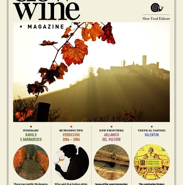 È online il terzo numero di Slow Wine Magazine, vieni a scoprirlo!