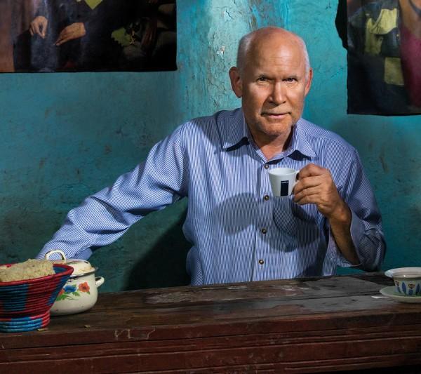Steve McCurry al Salone del Gusto per il Calendario Lavazza 2015