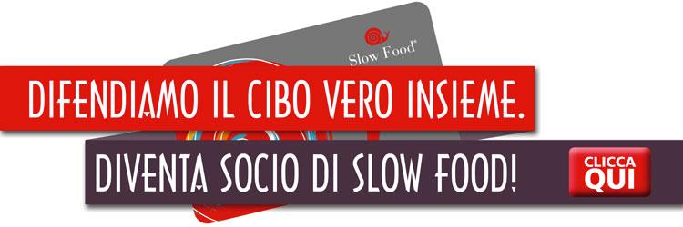 Difendiamo il cibo vero insieme - Diventa Socio Slow Food