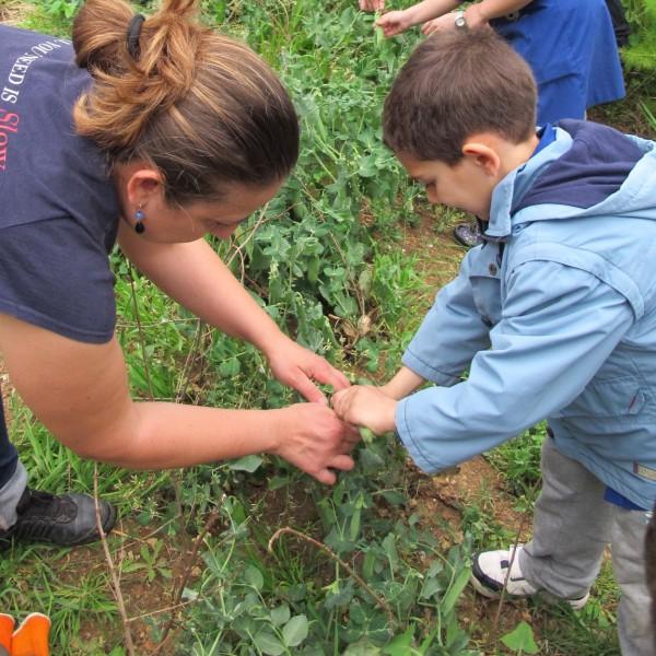 L'orto dei bimbi di Valentina: «insieme impariamo che la difesa del cibo buono, pulito e giusto riguarda l'intera società»