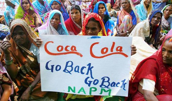 Contadini vincono contro Coca Cola