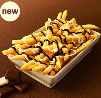 McDonald's lancia le patatine al cioccolato per uscire dalla crisi