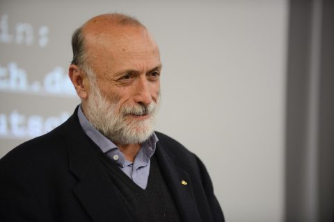 Carlo Petrini, anima del movimento Slow Food