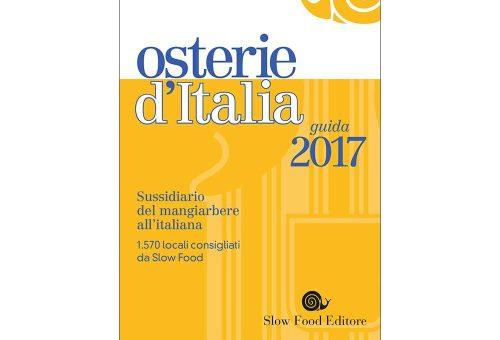 In anteprima 5 novità di Osterie d'Italia 2017
