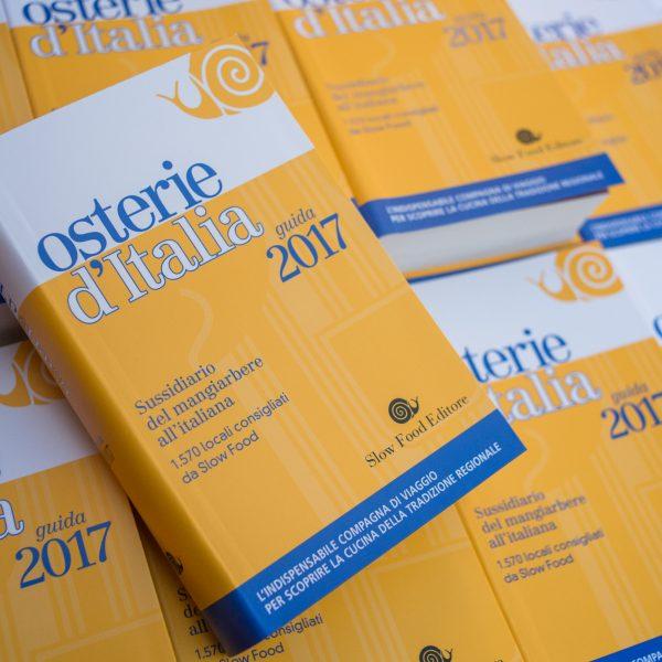 È arrivata Osterie d'Italia 2017: riflettori su accoglienza e ospitalità