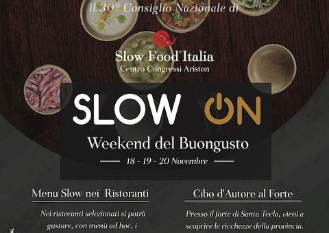 Slow On e Weekend del Buongusto: Sanremo accoglie il 30° Consiglio Nazionale di Slow Food Italia