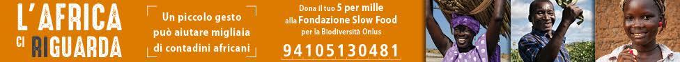 Dona il tuo 5x1000 a Fondazione Slow Food