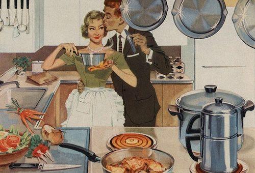 Le cucine dove non si cucina (più)