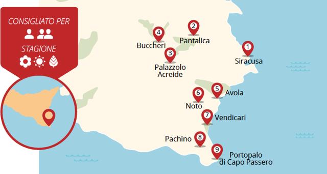 Paradiso Sicilia. Tra visioni barocche, natura e estasi di gusto