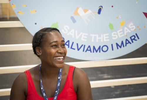 Akeisha Clarke: «L'Oceano è uno solo, ma è di tutti»