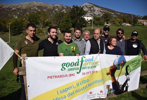 Sii il cambiamento che vorresti vedere nel mondo! Goodfoodfarming a Pietraroja.