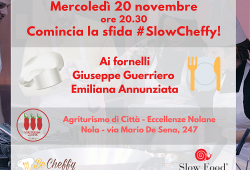 SlowCheffy: comincia la sfida