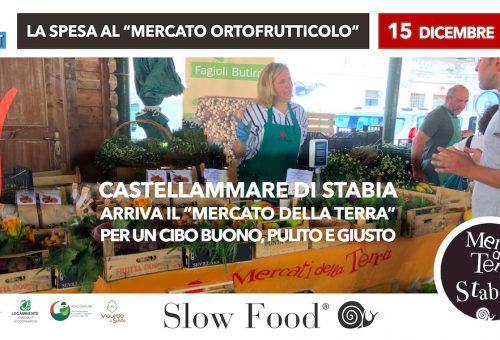 Slow Food a Castellammare di Stabia. I Mercati della Terra di Natale
