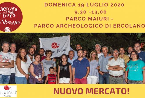 Beni UNESCO e agricoltura Slow: a Ercolano il Mercato della Terra di Slow Food Vesuvio