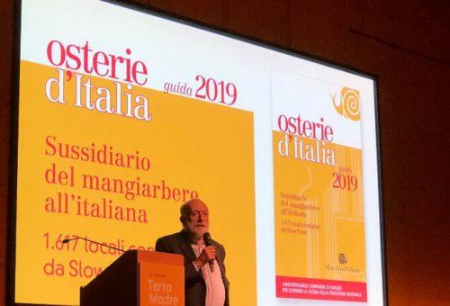 GUIDA ALLE OSTERIE D'ITALIA 2019 – PRESENTAZIONE UFFICIALE E CENA CON LE OSTERIE PREMIATE DELL'EMILIA-ROMAGNA