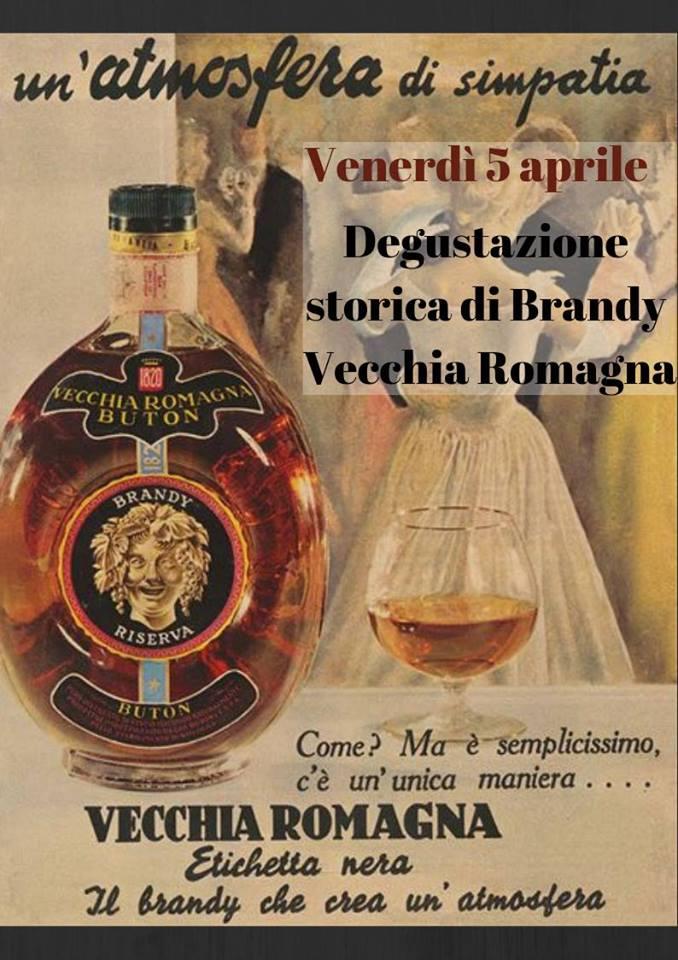5 Aprile a Bologna - Degustazione storica di Brandy Vecchia Romagna