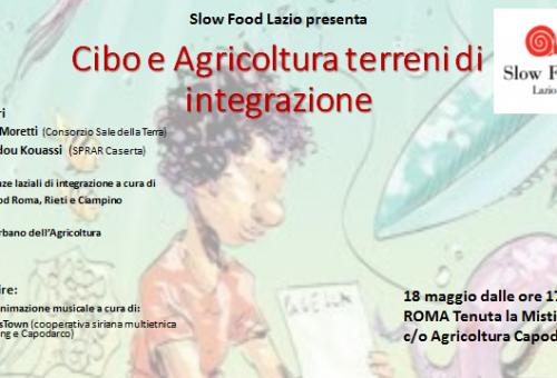 SLOW FOOD LAZIO INCONTRO SULL'INTEGRAZIONE DEI LAVORATORI MIGRANTI