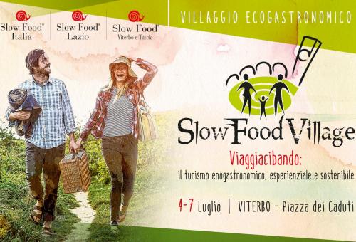SLOW FOOD VILLAGE 2019 VIAGGIACIBANDO:  Il turismo enogastronomico, sostenibile, esperienziale e accessibile.