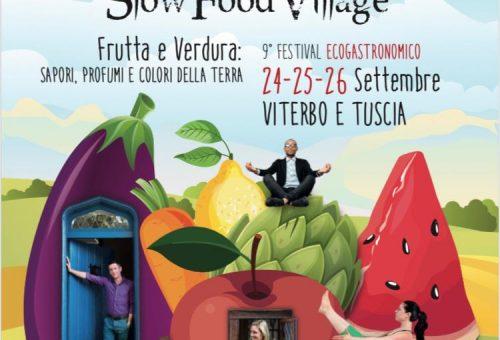 Torna a Viterbo dal 24 al 26 settembre lo Slow Food Village