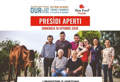 Presidi aperti in Liguria per Terra Madre Salone del Gusto