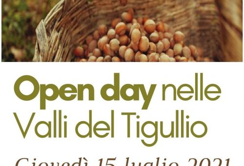 Open Day nelle Valli del Tigullio con la Comunità Nocciole Misto Chiavari