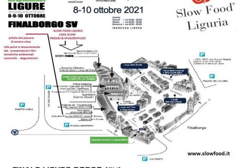 Casa Slow Food Liguria al Salone Agroalimentare Ligure di Finalborgo