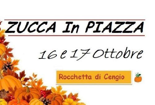 """17° Edizione di """"ZuccaInPiazza"""" a Rocchetta di Cengio (SV)"""