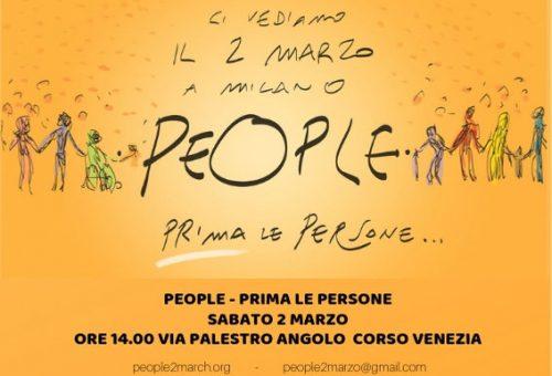 2 marzo – People – Prima le persone
