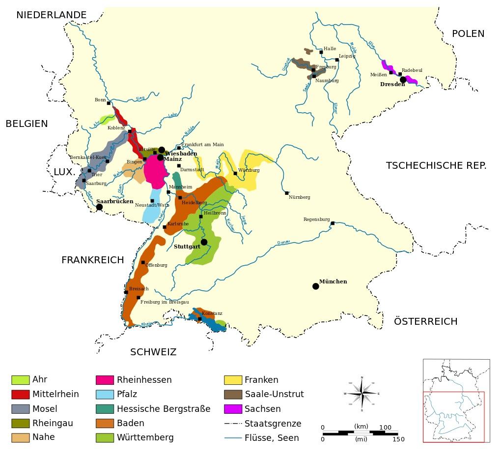 regioni vino germania
