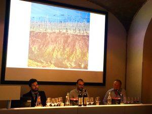 Nicola Chionetti, Giancarlo Gariglio, Valerio Mossio alla Banca del Vino.