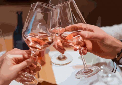 Il mercato mondiale dei vini rosa
