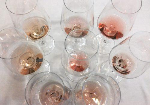 I nomi dei vini rosa