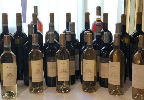 Il Soave agli irti colli giganteggiando sale… (verticale dei vini di Gini)