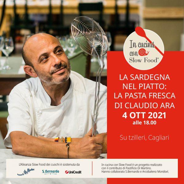 In cucina con Slow Food: la Sardegna di Claudio Ara