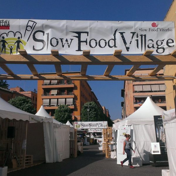 Lo SlowWeekEnd inizia da Viterbo: pronti per lo Slow Food Village
