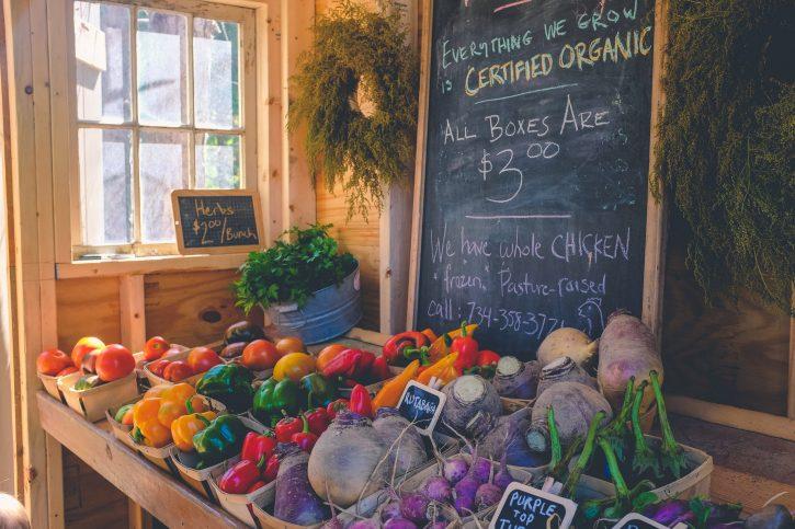 Cibo biologico Farm To Fork strategy