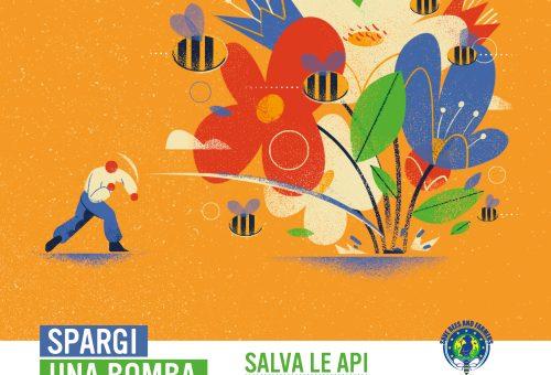 Flower Bomb Challenge: salviamo le api e coloriamo l'Europa di fiori