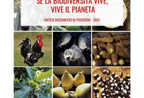 Se la biodiversità vive, vive il pianeta. Il documento di posizione sulla biodiversità