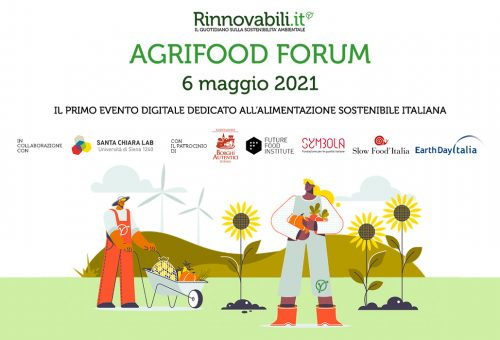 Agrifood Forum, un evento digitale  dedicato all'alimentazione sostenibile