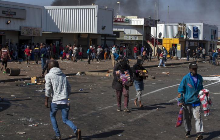 Disordini Sudafrica