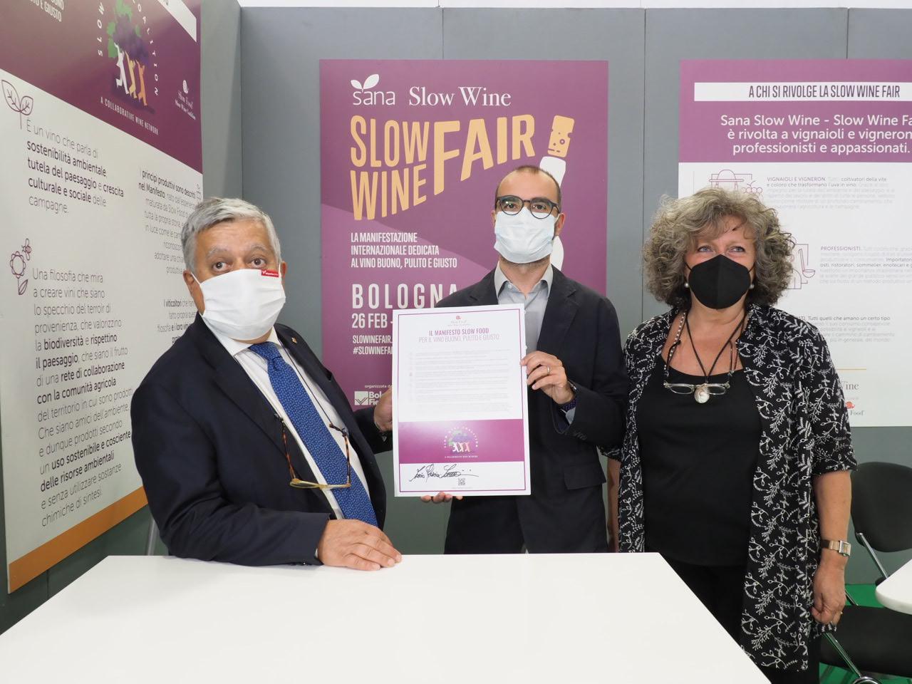Manifesto Slow Food per il vino