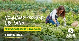 CambiamoAagricoltura manifesto